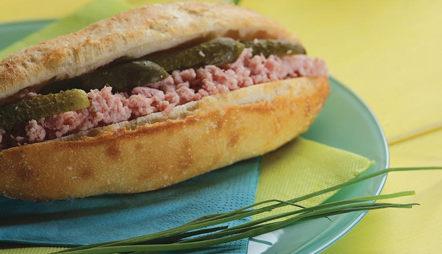 mini sandwich jambon beurre revisit pour un mini prix recettes moulins bourgeois. Black Bedroom Furniture Sets. Home Design Ideas
